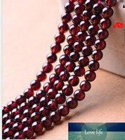 3A 4A 5A 6A granato perline cristallo rotondo naturale puro gioielli accessori semilavorati in rilievo braccialetti di DIY