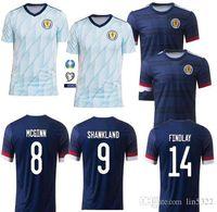 새로운 스코틀랜드 2020 2021 축구 유니폼 스코틀랜드 로버트슨 프레이저 네이 스미스 축구 셔츠 맥그리거 CHRISTIE 포레스트 맥긴 남성 키트 유니폼