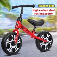 Passeio de bicicleta bebê Balance bicicleta Crianças Walker em Toys presente Duas Rodas para 2-6years Old Crianças Aprendizagem Caminhada Corrida Correr bicicleta