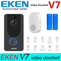 EKEN V7 1080P SMART WIFI Vidéo Doonbell Caméra Visual Intercom Chime Night Vision Night Vision IP Porte Caméra de sécurité Home Wireless Home Caméra