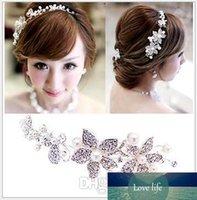 Nuovi monili della fronte Strass accessorio dei capelli nuziale Fiore Headwear Wedding Crown capo Pezzi per la sposa