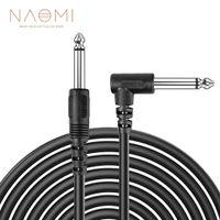 Naomi 6.35mm Ses Bağlantı Müzik Kablosu İçin Gitar Bas Uzunluk 3m