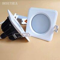 Spot LED IP65 Waterproof Regulável COB Down light lâmpada de 15W 12W 10W 7W Led iluminação de teto de sauna a vapor cozinha banheiro banho