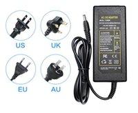 Fuente de alimentación del transformador de luz LED Strip 5630 5050 3528 100-240V adaptador AC / DC 12V 5A para la tira del LED RGB