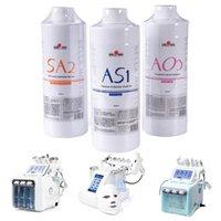 Yeni Stil Hydra AS1 SA2 AO3 Yüz Serum Su Dermabrazyon Cilt Temizleme Makinesi Aqua Peeling Çözümü başına Aqua Yüz Serum CE