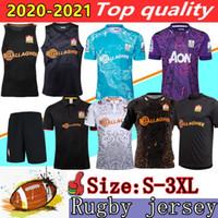 جديد 2020 رئيس سوبر الركبي الفانيلة قميص دوري الأعلى 19 20 21 لعبة الركبي جيرسي زيلندا الرئيسية أداء قمصان الركبي تي القميص