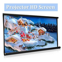 16: 9 100 inch Foldable Projector HD screen Canvas Front Home...