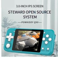 POWKIDDY Q90 3 inch IPS Screen Handheld Game Player Dual Ope...