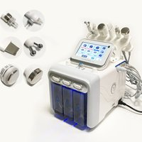6 in 1 Hydra Yüz Makinesi RF Cilt Bakımı Gençleştirme Mikrodermabrazyon Hidroforasiyal Dermabrazyon Kırışıklık Temizleme Hidrakasiyal Ekipman