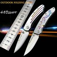 2020 Wintersweet Nóż Noże Side Open Spring Assisted Nóż 5CR13MOV 58HRC Stee + uchwyt aluminiowy EDC Składany kieszonkowy nóż Survival Gear