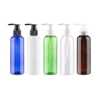 200ml PET Lotion Cream Shampoo Shower Gel Pump Bottle 200cc ...