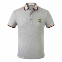 20s Hot Spring Italie T-shirt T Medusa Polos High Street broderie Little Bee couleuvres rayées impression Vêtements pour hommes Marque Polo