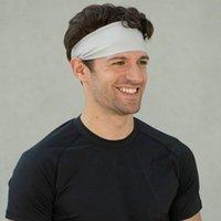 Cappellini da ciclismo Maschere Sport Sport Sport Outdoor Sweat Bandand Set Decorazione fitness Assorbente Assorbente Fascia per hairband Hairband per il basket Yoga