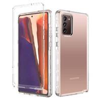 Per Samsung Galaxy Nota 20 S20 S21 Plus Custodie per cellulari Ultra Clear Hybrid 3in1 Soft TPU Bumper Hard Back Back Transparent Cover Compatibile IPhone 13 11 12 Pro Max XR 8Plus