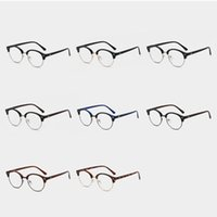Fashion Sunglasses Frames Glasses Frame Retro Classic Clear Lens Nerd Men Women Eyeglasses Vintage Metal Eyewear Designed