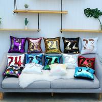 32 renk parıltı payet yastık kılıfı denizkızı yastık kılıfı yastık büyülü atmak yastık kılıfı ev dekoratif araba koltuk yastık kılıfı HWC1061