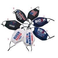 máscara Biden Harris para EUA 2020 eleição prova de poeira pano de algodão lavável mascarar resuable exterior FFA4389 cobertura boca