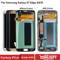 AMOLED For Samsung Galaxy S7 Edge Lcd Display With Touch scr...