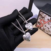 3 estilos 55cm Colares de Charm para Unisex g Top Quality 925 Sterling Prata Amor Animal Colar Cadeia Longa Colares Fornecimento de moda