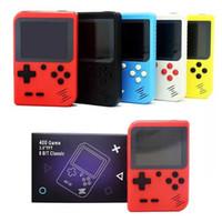 Gioco giocatore tenuto in mano Mini Video Display Portable Console 400 giochi TV 128m Uscita configurazione in batteria regalo dei capretti Gameboys dispositivo