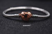 2020 DORANPS catena di mano originale S925 perline braccialetti di fascino per la donna bracciali gioielli Fare regali