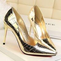 حذاء 2021 الربيع والخريف المرأة الجديدة واحدة وأشار الكورية أزياء الكعب العالي الضحلة البرية القوس الفم الأحذية النسائية