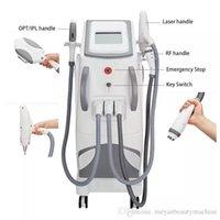 3in1 IPL SHR E-Light RF Nd Yag permanent picoseconde épilation au laser et laver les sourcils Détatouage Machine de beauté Salon de beauté