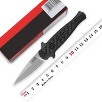 클립 야외 사냥 EDC 캠핑 도구와 커쇼 시작 12 자동 나이프 7125 접이식 칼 CPM-154 블레이드 알루미늄 핸들 과일 칼