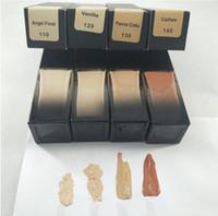 2020 العلامة التجارية maquiagem 4 ألوان ماكياج الأساس الأساس تمييز المخفي المتوسطة تغطية الأساس السائل الشحن المجاني