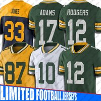 Aaron Rodgers Jersey Green Bay
