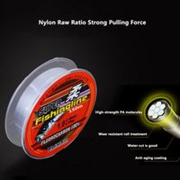 100M Nylon braided fishing line 164 Yards High Strength Large Horsepower Fishing Line Sea Squid Line Outdoor Accessories