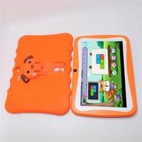 A33 Enfants Tablettes 7 pouces 512 MoB RAM 8GB ROM Allwinner Quad Core Android 4.4 Enfants Enfants Caméra PC Caméra Camion de Noël avec étui