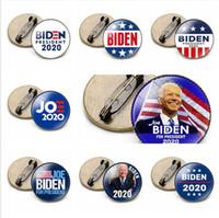 19 Estilos Joe Biden Pin 2020 del presidente de Estados Unidos nos ha proporcionado la estrella del indicador Biden Tiempo Voto broche de la insignia del partido de la gema del regalo del favor LJJP432