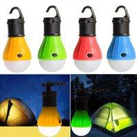 Mini Linterna portátil Tienda Luz LED Bombilla Lámpara de emergencia Impermeable Colgante Flashlight para Accesorios de Muebles de Camping W-00199