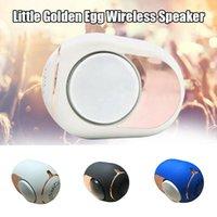 Mini-Lautsprecher 1Pc Goldene Eierlautsprecher Wireless Bluetooth 4.2 Musik-Player High-End -108 DB-Grad-Stereo-Surround-Sound
