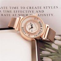 2020 New Três Agulha Série de Luxo Mens Relógios Set Auger Dial 38 milímetros Tamanho Quartz Watch Watch Designer Relógios Loui Marca Moda Moda Cinturão de Malha