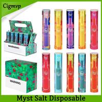 Myst Original Myst Salt Dispositivo monouso 280mAh Batteria 14 colori Disegno attivato sparatura PK Air Bar Spedizione gratuita