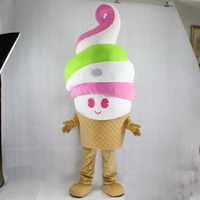 2020 High quality hot EVA Material ice cream Mascot Costumes...