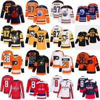 Sidney Crosby Pittsburgh Penguins Connor McDavid Edmonton Oilers Alex Ovechkin Washington Capitales Claude Giroux Philadelphia Flyers Jersey