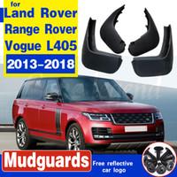 Boue Rabats bavettes garde Splash Fender Fit Pour Garde-boue Land Rover Range Rover Vogue L405 2013-2018 avant voiture Accessoires arrière