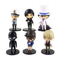 Мультфильм аниме детектив Conan фигура игрушки бурбон Kudou Furuya Shuuichi Akai Thief детский стиль PVC модель куклы подарок