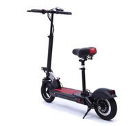 Складной умный скутер литиевой батареи бесщеточный амортизатор электрический мотоцикл Max30km Load150kg подушка может быть быстро удалена