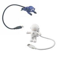 크리 에이 티브 디자인 에너지 절약 우주 비행사 우주인의 USB LED 나이트 라이트 컴퓨터 노트북 노트북 램프 미니 나이트 라이트 키보드 램프
