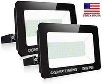 LED 200W 300W 400W 100W 투광 조명 야외 LED 홍수 빛 램프 방수 LED 프로젝트 lampTunnel 빛 AC 85-265V + 미국 주식