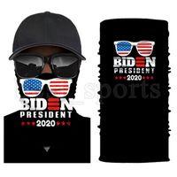트럼프 페이스 마스크 2020 미국 국기 보호 마스크 야외 자전거 매직 스카프 스카프 머리띠 대통령 트럼프 바이든 선거 마스크 CYZ2723