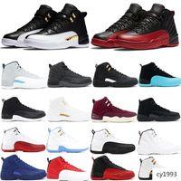 Jumpman di pallacanestro 12 XII Designer Sport Ali CNY TAXI Playoff Flu gioco scarpe per le donne degli addestratori uomini scarpe da tennis correnti