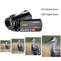 ORDRO 4K WiFi Digital Video Camera Camcorder Recorder DV 24MP IPS Touchscreen Face Detection Anti-shake with 2pcs Batteries