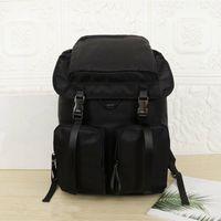 2021 Kapazität Rucksackstil für Männer Mode Taschen Einfache Trend Rucksäcke leichte Freizeit Leinwand Bag Simply Student Schoolbag