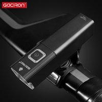 800Lumen LED مصباح دراجة جبهة GACIRON V10-500 / ضوء USB قابلة للشحن IPX6 ماء للجبهة المقود اكسسوارات الدراجات