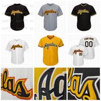 23 Fernando Tatis Jr. Aguilas Cibaeñas Equipo de béisbol Dominicano Jersey de béisbol personalizado Nombre Número Stiched Número de alta calidad Amarillo Negro Gret Blanco